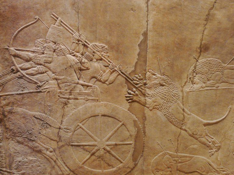 アッシュールバニパルの獅子狩り