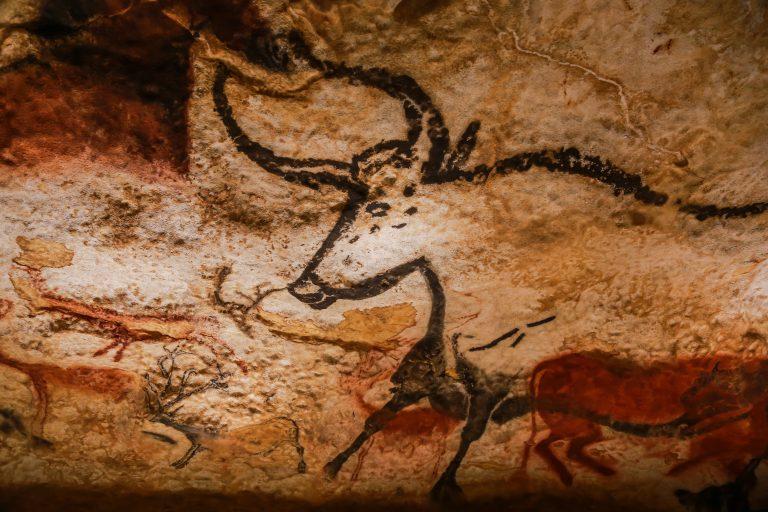 ラスコー洞窟の壁画