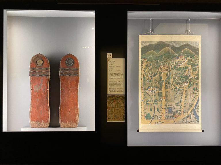 『朱塗金銅装盾』と『三輪山絵図』