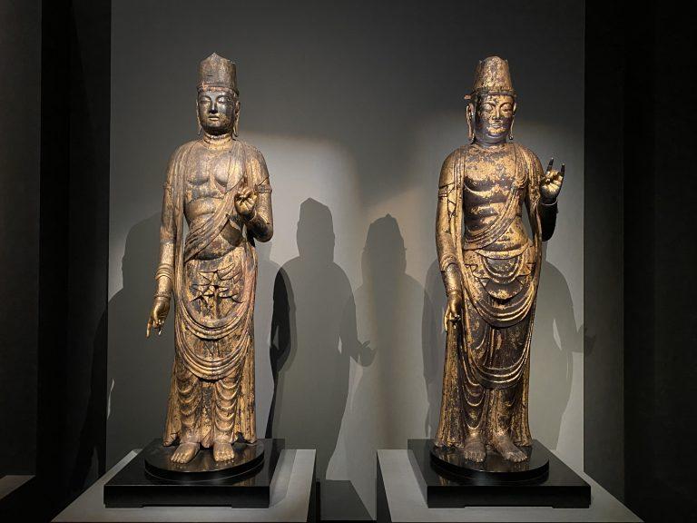 『月光菩薩立像』と『日光菩薩立像』