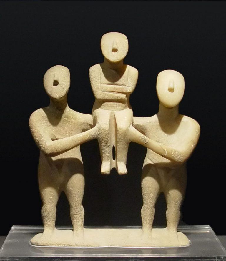 前期キクラデスII期の群像