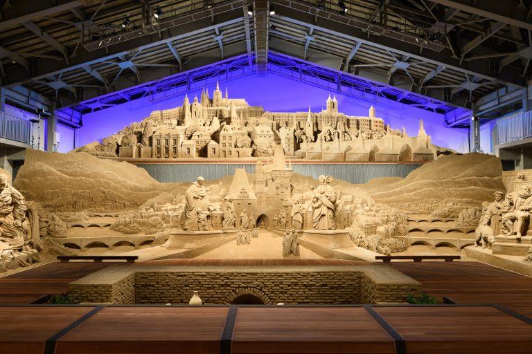 プラハ城とカレル橋(第13期展示より)