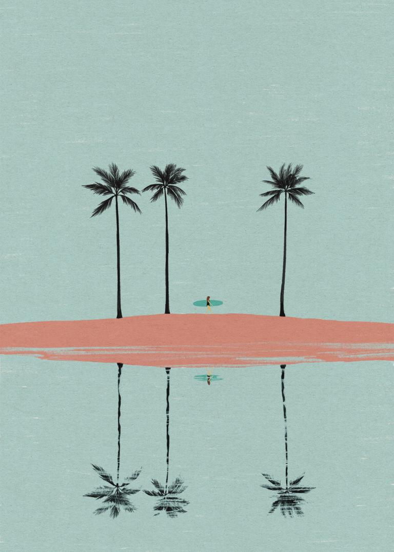 サーフアート『Reflection』