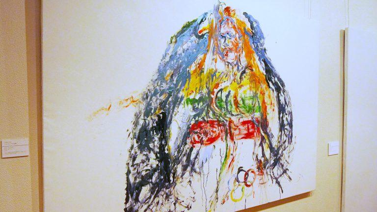 《リトアニアの女神》2021年 キャンバスに油彩 F120号