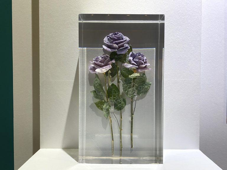 『青いバラ』 栽培品種 国立科学博物館