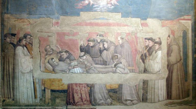 聖フランチェスコの死
