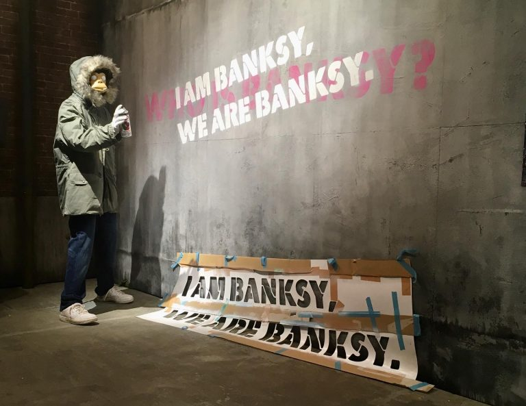 『バンクシーって、誰?』展