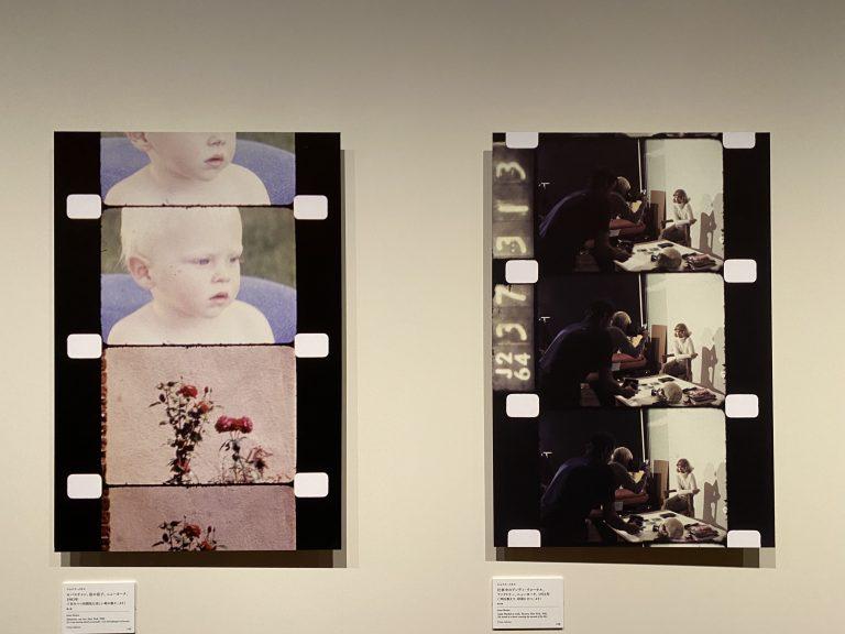 ジョナス・メカスの展示風景