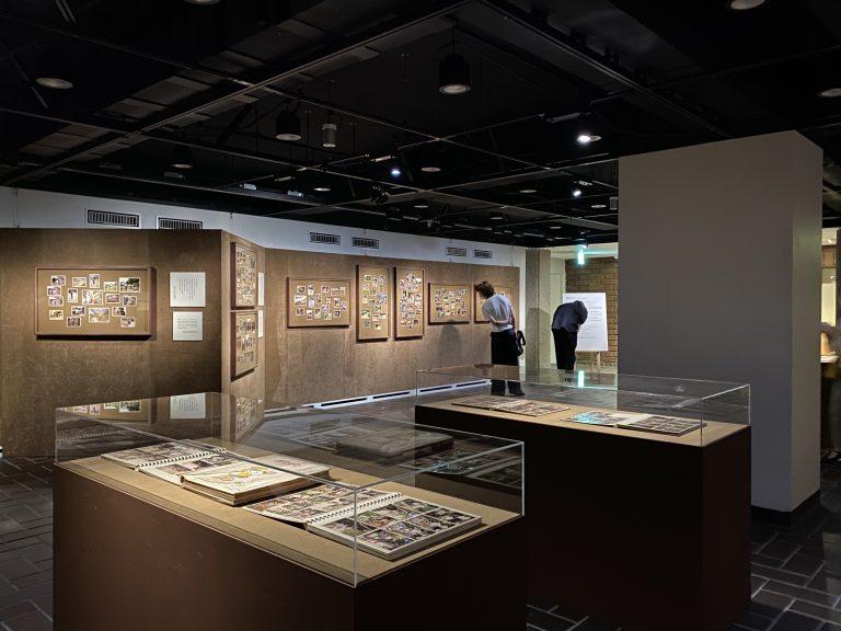 増山たづ子の展示風景
