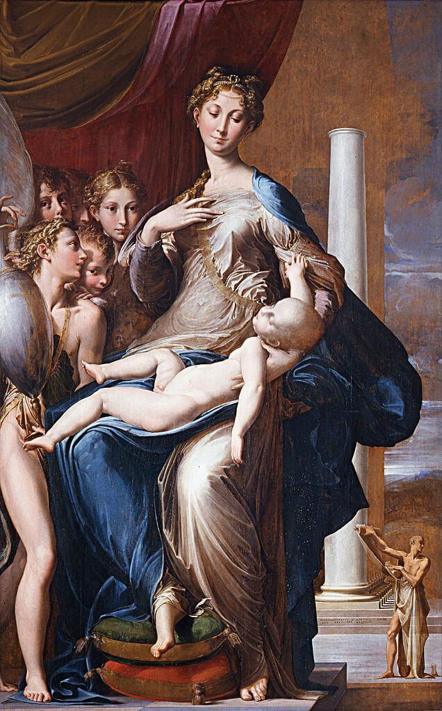 『長い首の聖母』 パルミジャニーノ