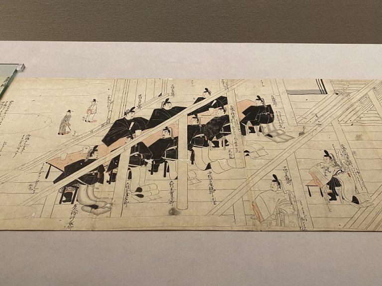 住吉如慶『承安五節絵模本』 日本・江戸時代 17世紀 個人蔵