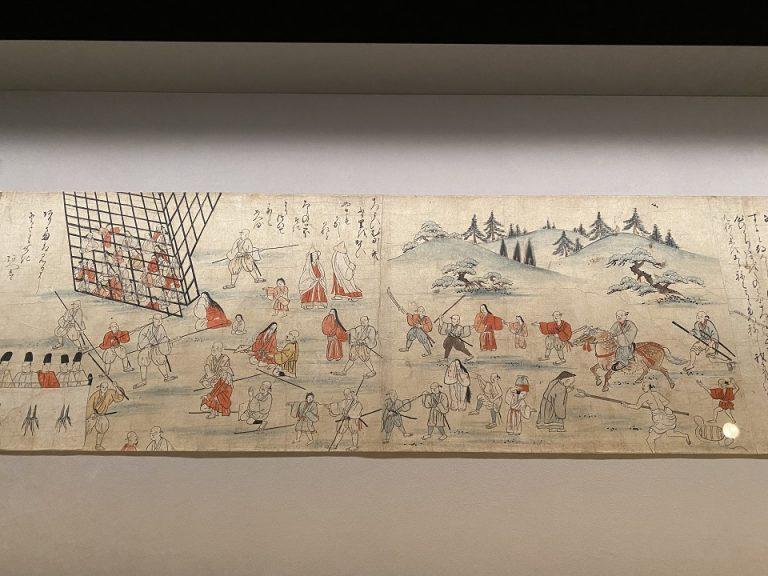 『幸若舞曲つきしま絵巻』 日本・室町時代 16世紀 根津美術館蔵