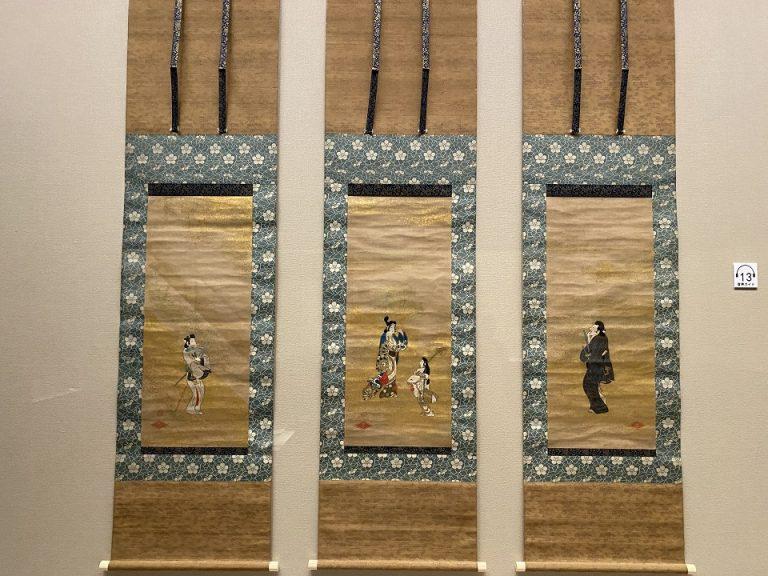重要美術品『風俗図』 日本・江戸時代 17世紀 根津美術館蔵