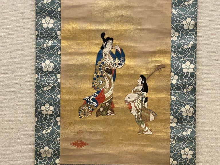 重要美術品『風俗図』(部分) 日本・江戸時代 17世紀 根津美術館蔵