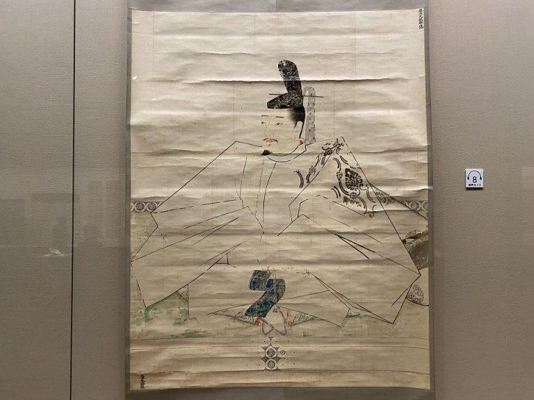 冷泉為恭『伝 藤原光能像模本』 日本・江戸時代 19世紀 根津美術館蔵