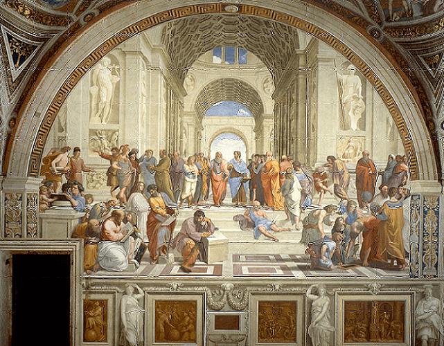 「アテネの学堂」