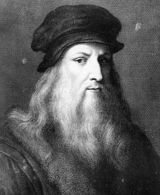 レオナルド・ダ・ヴィンチ肖像画