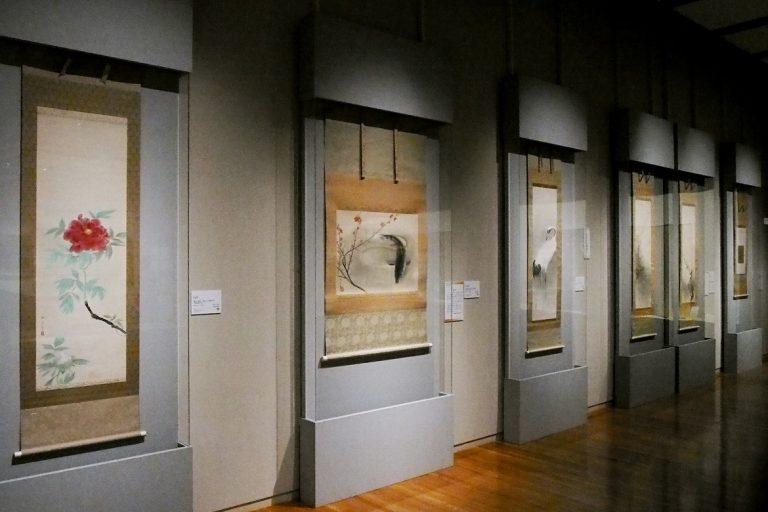 速水御舟の作品の展示風景
