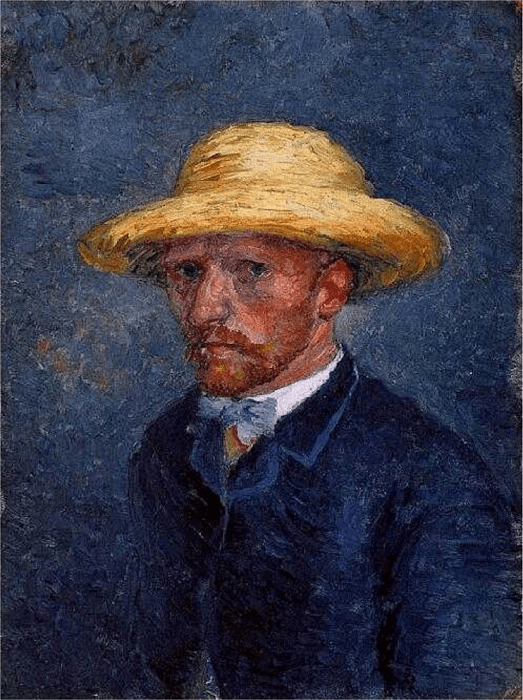 ゴッホの作品『テオの肖像』