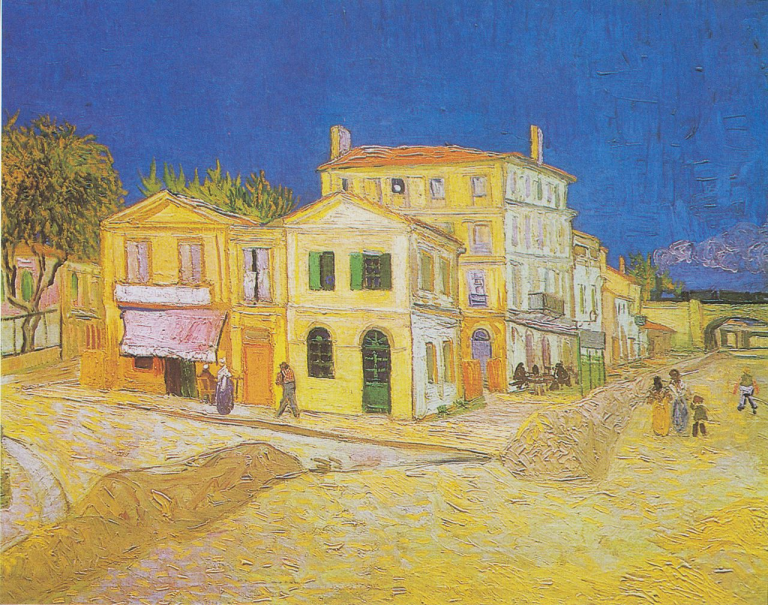 ゴッホの作品『黄色い家』