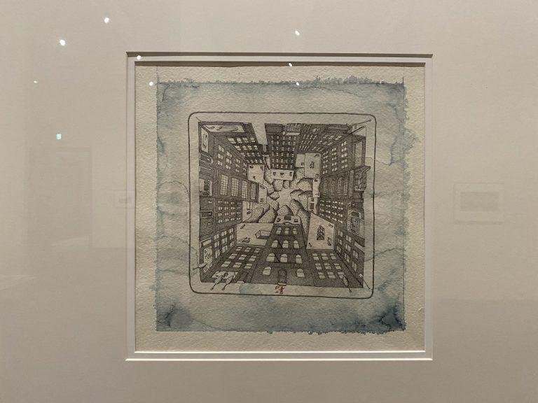 『マドレンカ』絵本原画 2000年