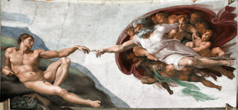 『アダムの創造』