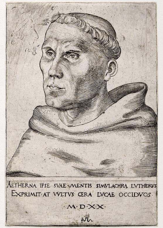 1520年のルターの肖像