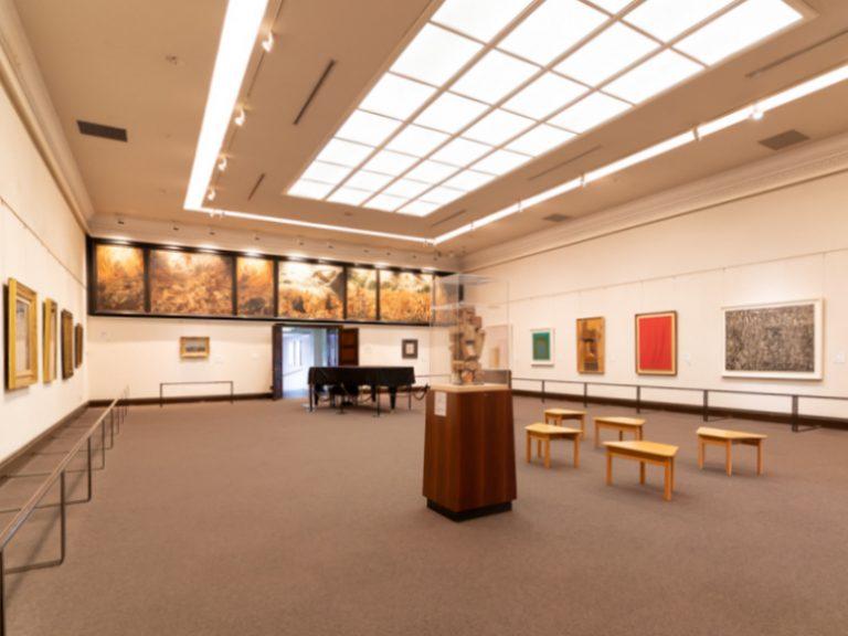 第二展示室(全体風景)